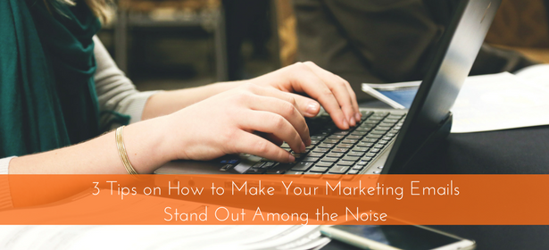 make marketing emails stand oug