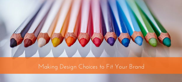 design choices fit brand