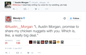 Wendy's Twitter Nuggets