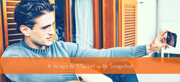market with snapchat