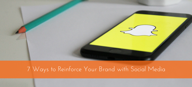 reinforce brand with social media