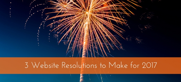 new years website resolutions